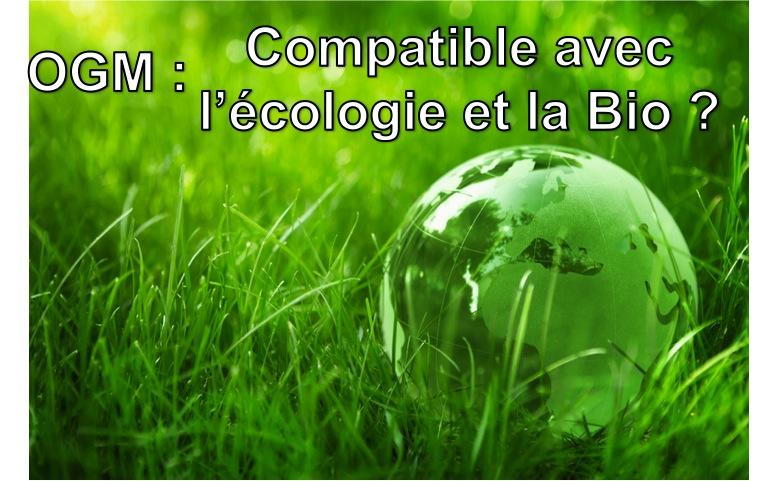 OGM Bio et écolo