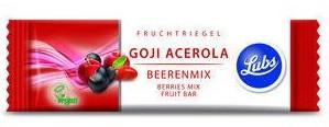 barre bio baies de goji acerola energetique sans lactose gluten soja edulcorant