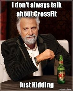 talking about crossfit