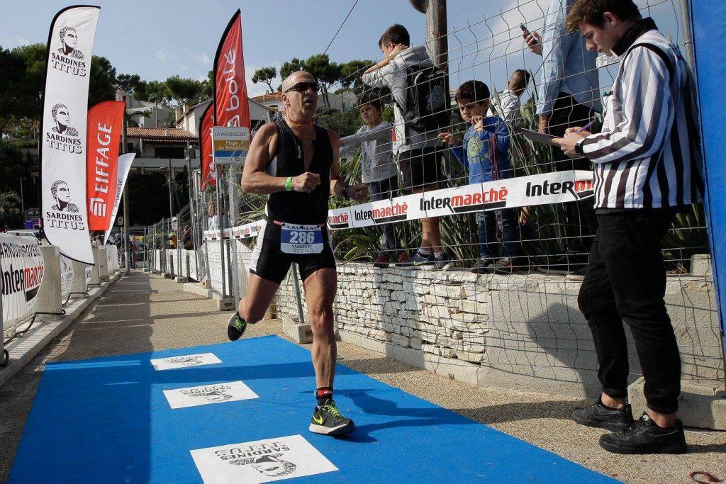 arrivee cap course a pied triathlon de cassis